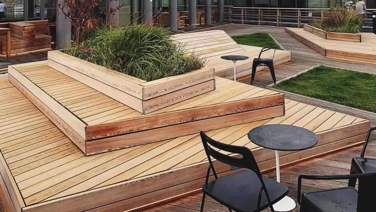 Terrace board